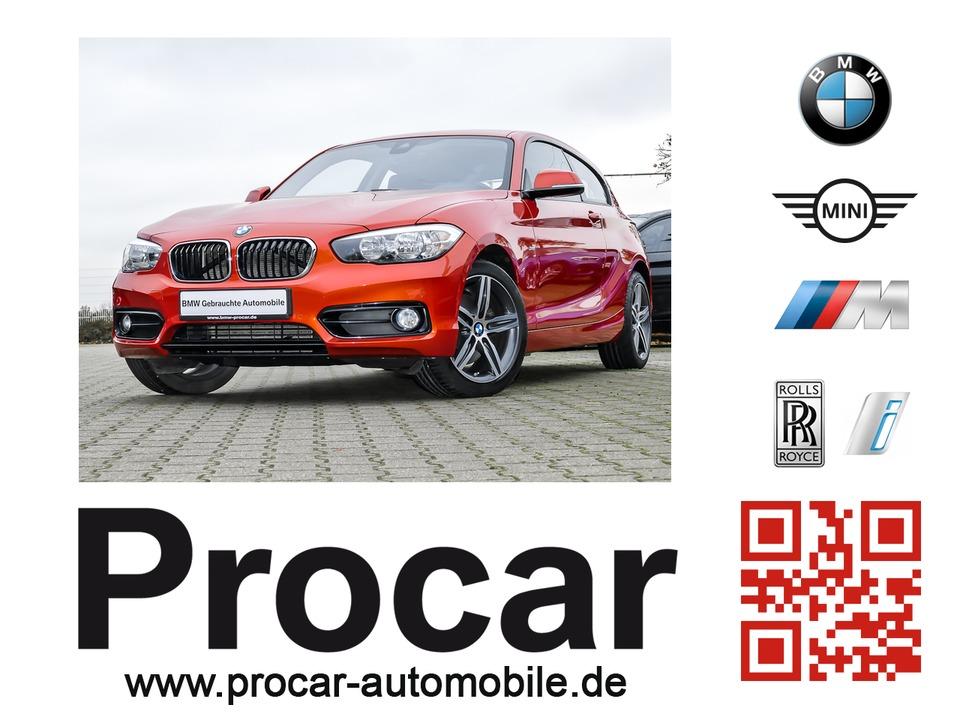 BMW 125d Sport Line 3-Türer // Sport-Aut. Navi, Jahr 2016, diesel