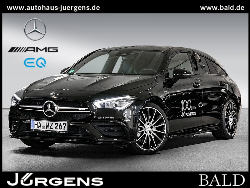 Mercedes-Benz AMG CLA 35 4M SB Performance/Navi/Wide/LED/Aero, Jahr 2019, Benzin