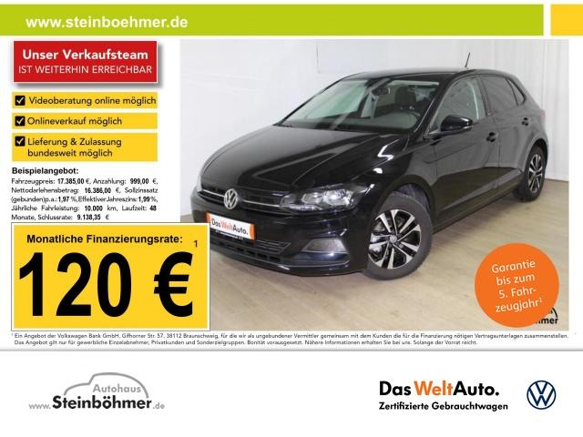 Volkswagen Polo IQ.DRIVE 1.0TSI Navi ACC Sitzhz. ParkAss, Jahr 2020, Benzin