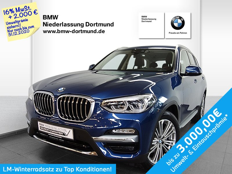 BMW X3 xDrive20i Luxury Line, Jahr 2019, Benzin