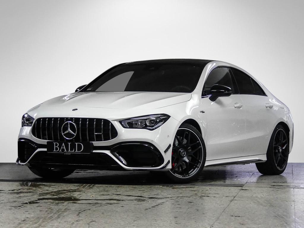Mercedes-Benz CLA 45 S 4MATIC+ Coupé Designo+Perf. Sitze, Jahr 2020, Benzin