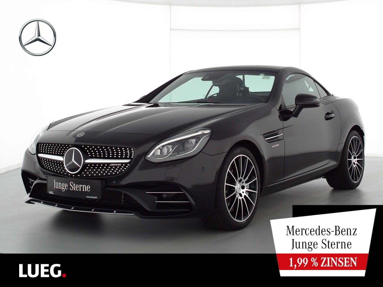 Mercedes-Benz SLC 43 AMG COM+Pano+LED-ILS+H&K+Distr+Mem+AIRSCF, Jahr 2019, Benzin