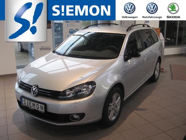 Volkswagen Golf Variant VI Match 1.2 TSI Kurvenlicht PDCv+h Multif.Lenkrad Knieairbag RDC Klimaautom, Jahr 2012, Benzin