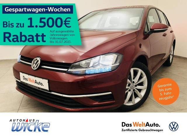 Volkswagen Golf VII 1.0 TSI Comfortline Klima ACC Navi, Jahr 2019, Benzin