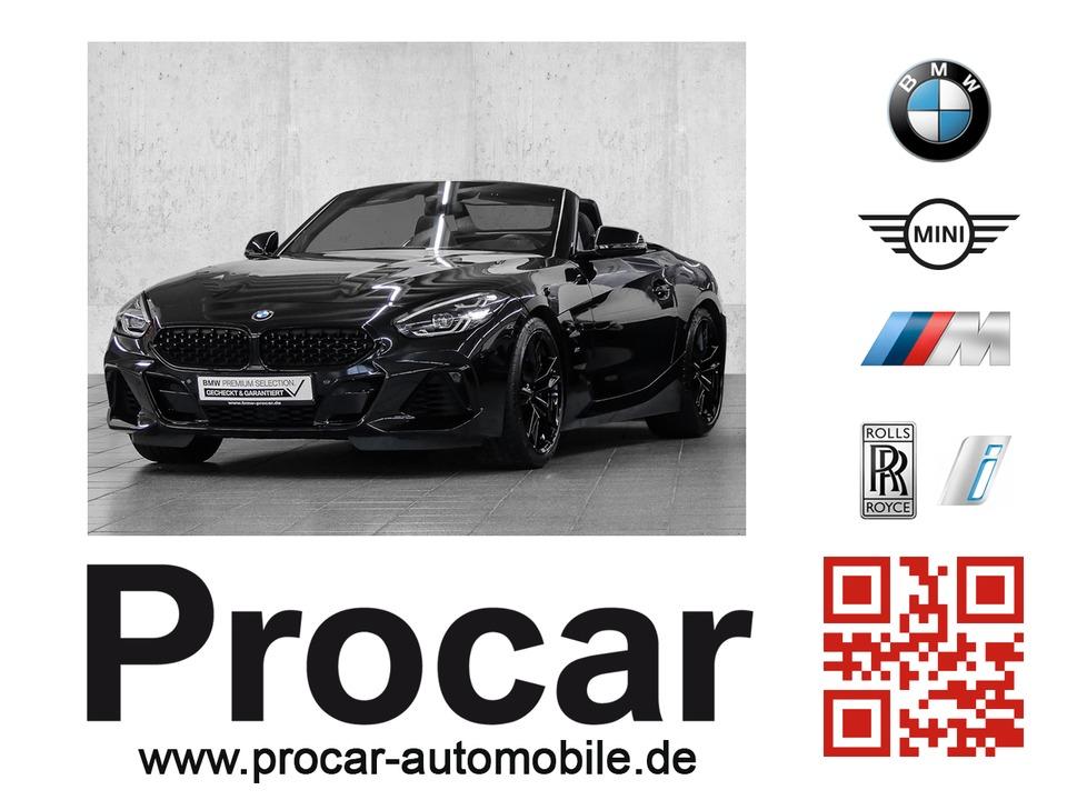 BMW Z4 M40i Vollausstattung, Jahr 2019, petrol