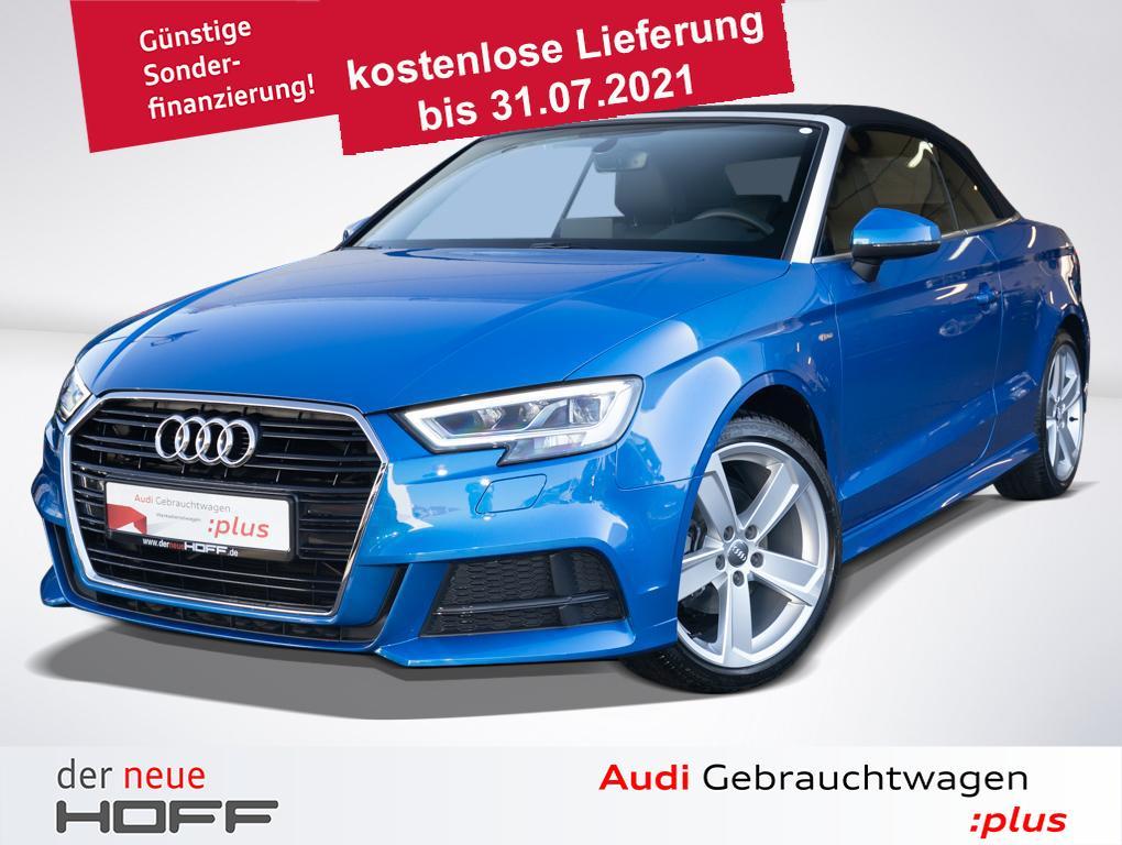 Audi A3 Cabriolet S Line + Exterieur Virtual Cockpit, Jahr 2020, Benzin