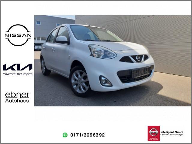 Nissan Micra 1.2l Acenta | Klimaautomatik | Sitzheizung | Bluetooth, Jahr 2015, Benzin