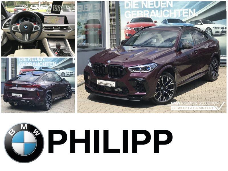 BMW X6 M Competition INDIVIDUAL B&W TV-Fond SKY, Jahr 2020, Benzin