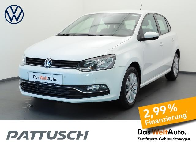 Volkswagen Polo 1.0 Comfortline Navi PDC Klima GRA, Jahr 2016, Benzin
