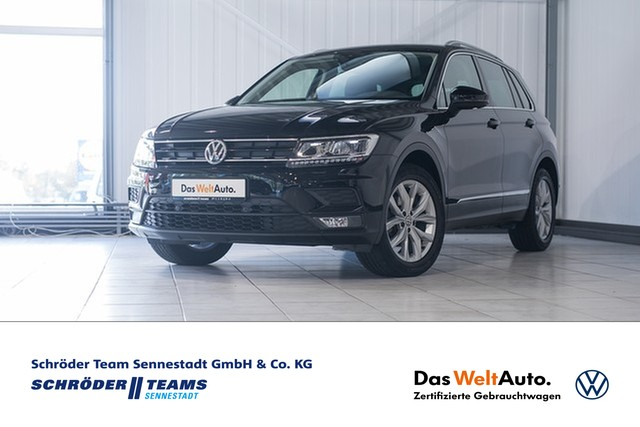 Volkswagen Tiguan 1.4 TSI DSG Comfortline Sound, Jahr 2017, Benzin