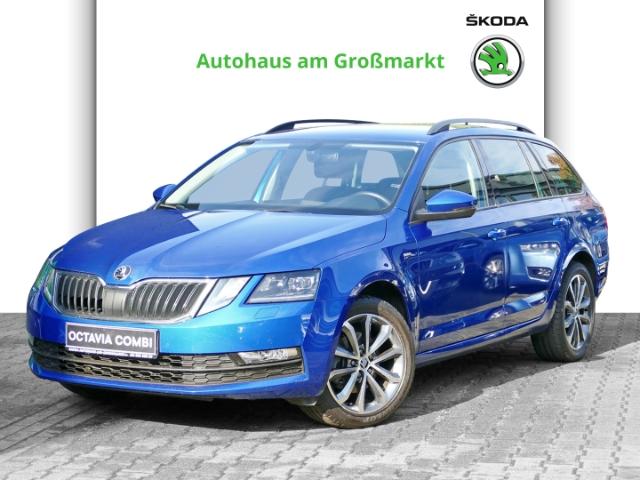 Skoda Octavia Combi Ambition 110 kW TSI, Jahr 2017, Benzin
