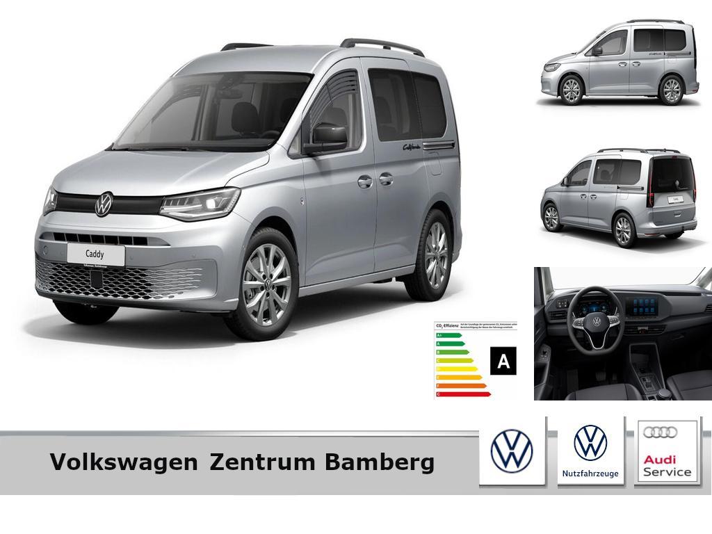 Volkswagen Caddy California 2.0 TDI+DSG+AHK+NAVI+REAR VIEW, Jahr 2021, Diesel