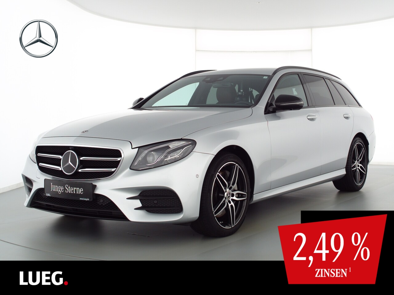 Mercedes-Benz E 350 d T AMG+COM+Mbeam+19''+DistrP+Airm+Wide+36, Jahr 2019, Diesel