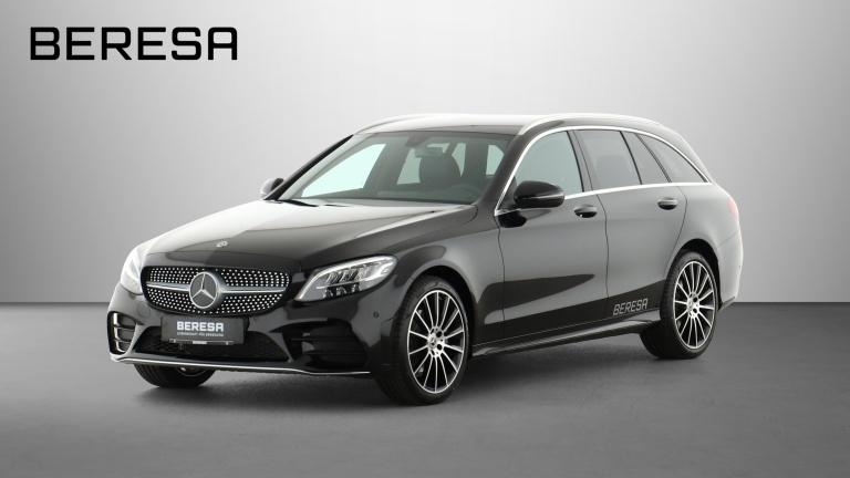 Mercedes-Benz C 180 T AMG LED AHK Kamera Navi PDC, Jahr 2020, Benzin