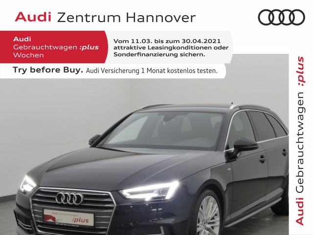 "Audi A4 Avant 1.4 TFSI Sport S-line LED Teilleder 19"", Jahr 2017, petrol"