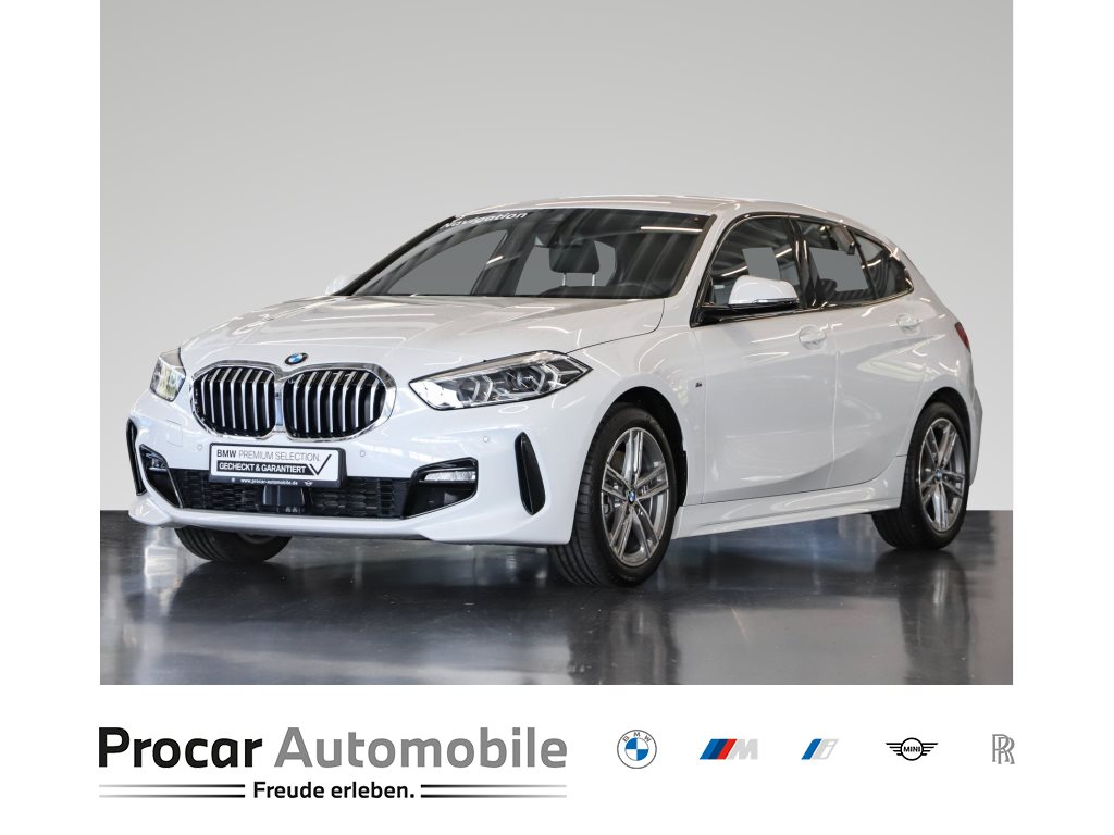 BMW 118i 5-Türer M-Sport Navi LED Shz Sportsitze 17, Jahr 2020, Benzin