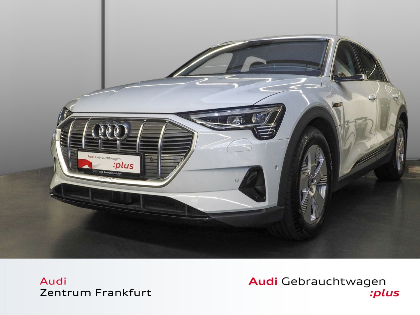 Audi e-tron 55 quattro LED Navi VC virtuelle Außenspi, Jahr 2019, electric