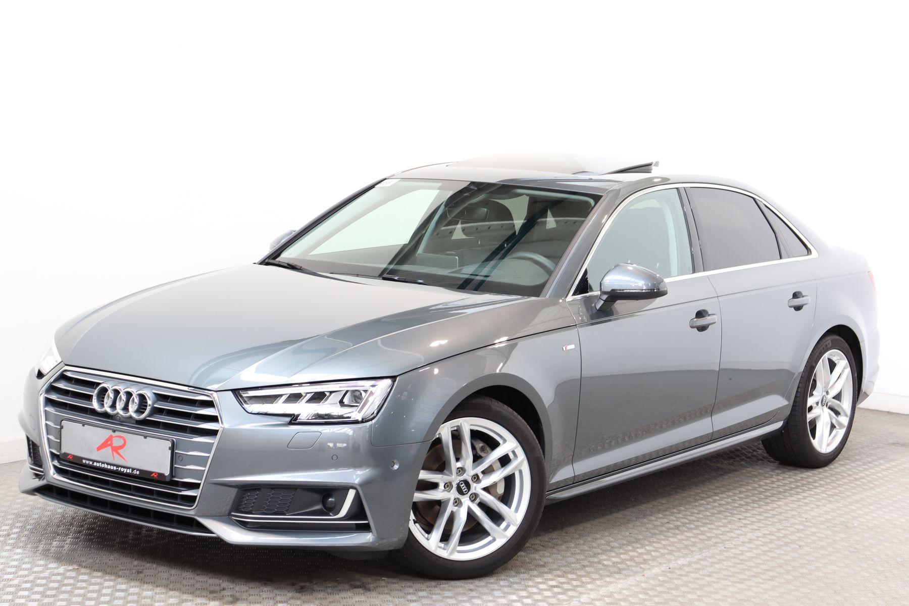 Audi A4 2.0 TDI S LINE SPORT VIRTUAL,MATRIX,B+O,ACC, Jahr 2017, Diesel