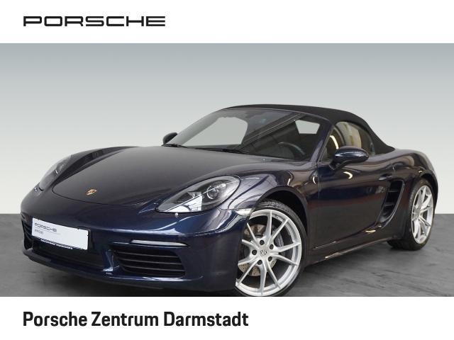 Porsche Boxster 718 Leder Navi Dyn. Kurvenlicht Klimasitze El. Verdeck Fernlichtass., Jahr 2017, Benzin
