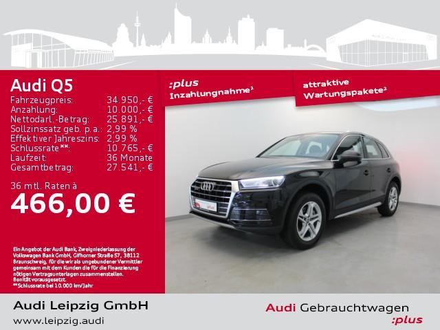 Audi Q5 2.0 TDI design quattro S-tronic *Xenon*Navi*, Jahr 2018, Diesel