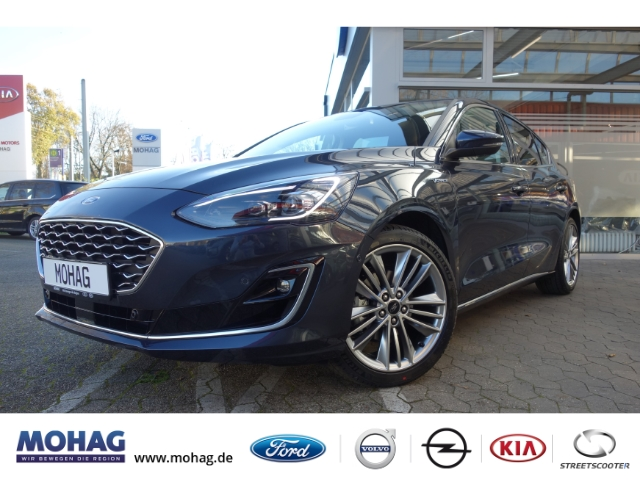 Ford Focus Vignale*Winter Paket-Technologie Paket-BLIS* Leder LED Navi Keyless Dyn. Kurvenlicht, Jahr 2021, Benzin