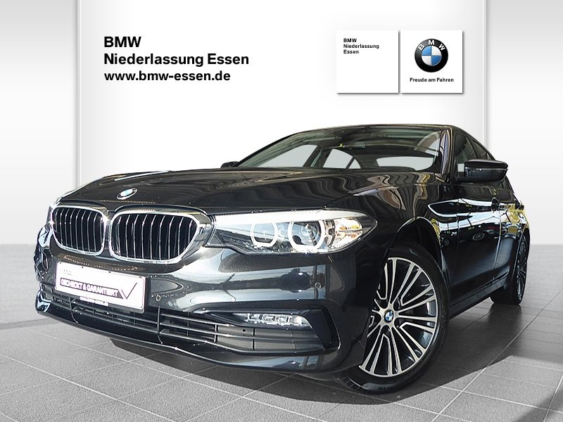 BMW 520d Limousine Sport Line, Jahr 2017, Diesel