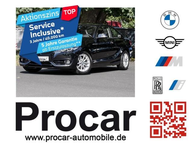BMW 218i Coupe Sport Line Aut. Navi Business PDC RFT, Jahr 2019, Benzin