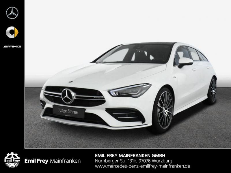 Mercedes-Benz CLA 35 SB AMG 4M+Premium+MBeam+PANO+19''Alu, Jahr 2019, Benzin