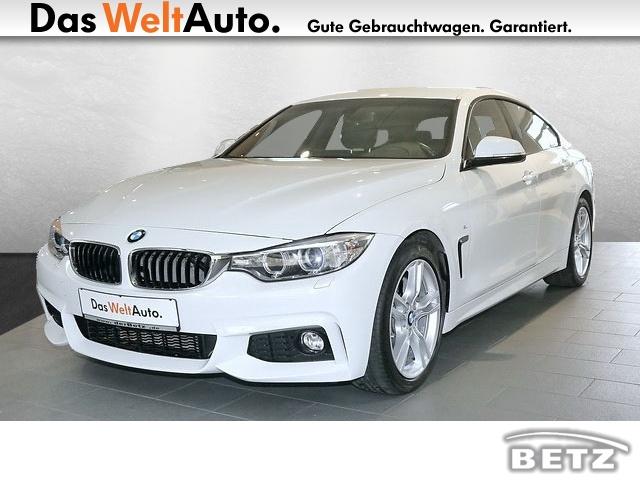 BMW 440i Gran Coupé M-Sportpaketinkl. Servicepaket 3, Jahr 2017, petrol