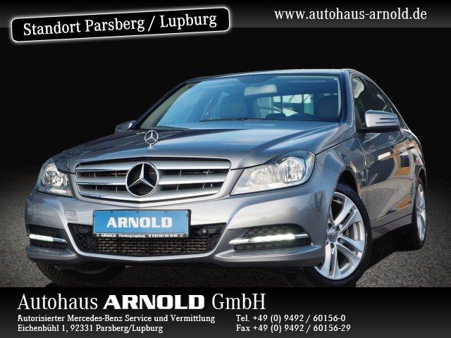 Mercedes-Benz C 250 CGI BE Avantgarde Vorr. Navi Sitzh. PTS, Jahr 2012, petrol