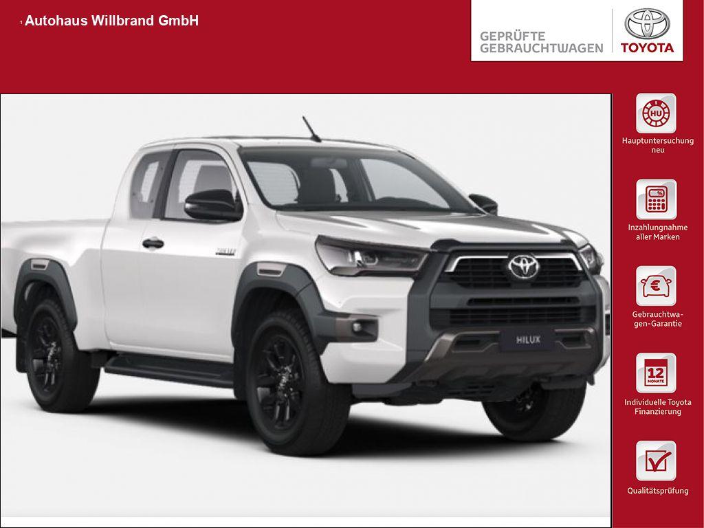 Toyota HiLux 4x4 Double Cab Autm. Invincible,inkl. starre AHK, Jahr 2021, Diesel