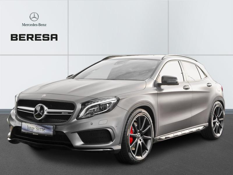 Mercedes-Benz GLA 45 AMG 4M Designo Magno Pano. Perf. AbGas, Jahr 2014, Benzin