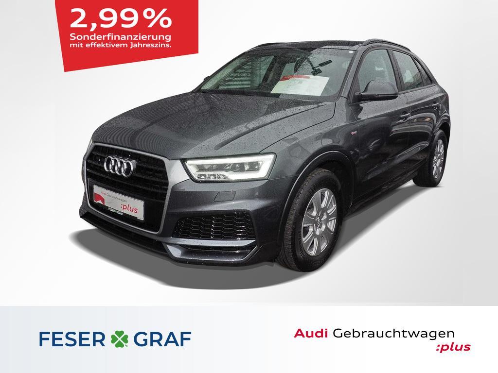 Audi Q3 2.0 TDI ultra AHK/Navi Plus/LED/PDC/2x S line, Jahr 2018, Diesel