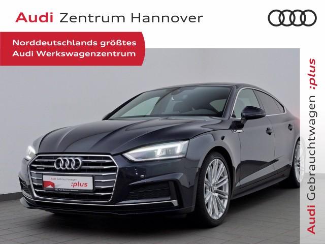 Audi A5 Sportback 2.0 TDI S-line B&O LED virtual Navi Teilleder, Jahr 2018, Diesel