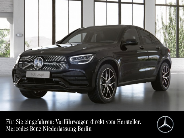 Mercedes-Benz GLC 300 e 4M Coupé AMG+Night+LED+Kamera+Spur+Totw, Jahr 2021, Hybrid