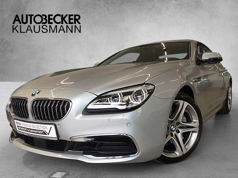 BMW 640i COUPÉ NAVI PROF WLAN LED PDC KAMERA, Jahr 2017, Benzin