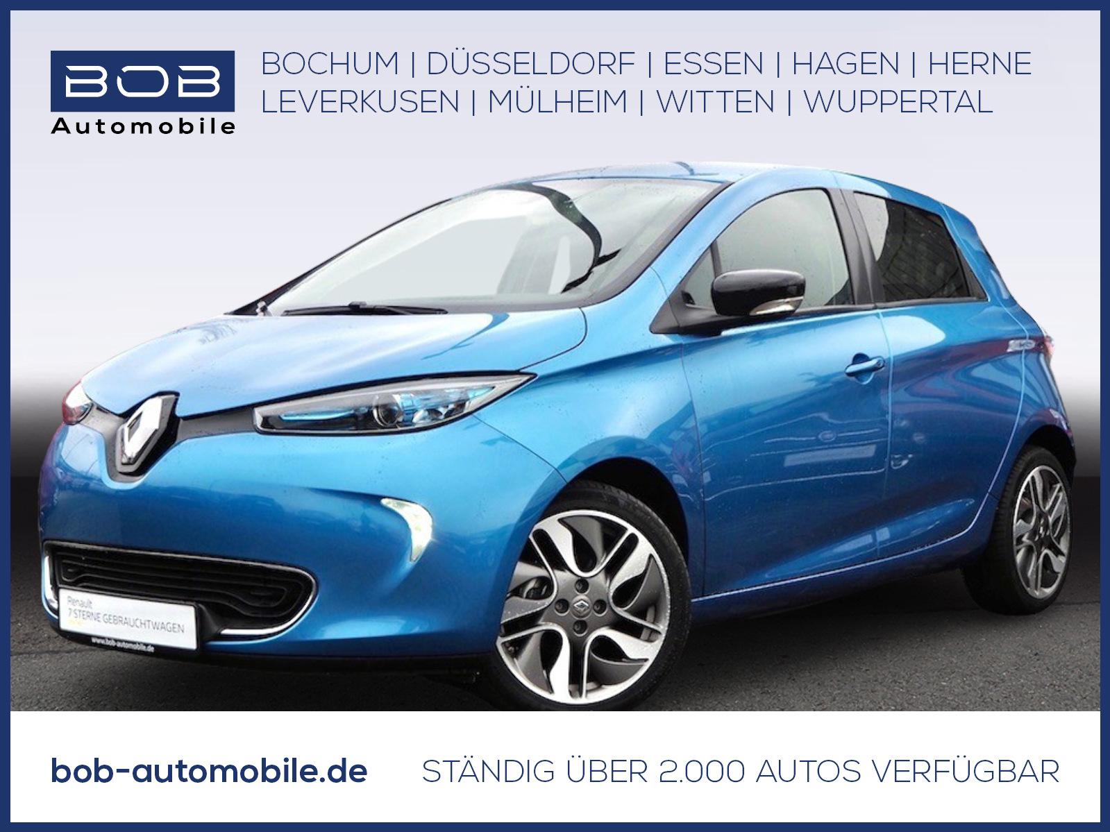 Renault ZOE 41KWh Intens zzgl. Batteriemiete NAVI KAMERA, Jahr 2018, Elektro