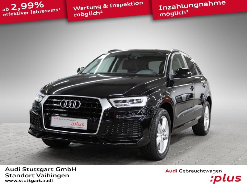 Audi Q3 1.4 TFSI S line LED Pano Sitzheizung Keyless, Jahr 2017, Benzin