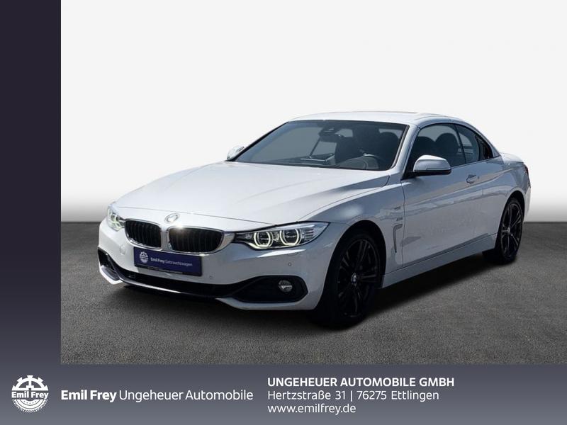 BMW 435d xDrive Cabrio Sport Line Head-Up HiFi LED, Jahr 2015, Diesel