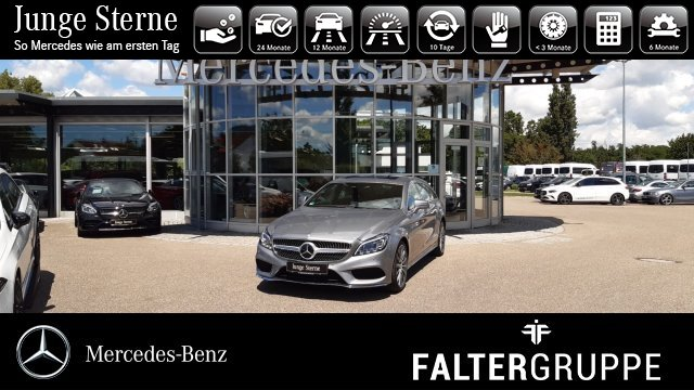 Mercedes-Benz CLS 350 BT SB AMG DISTR Memo GSD HK-Hifi ILS 360, Jahr 2014, Diesel