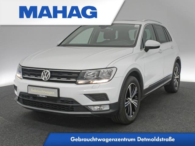 Volkswagen Tiguan 1.4 TSI ACT Comfortline Navi AHK Panorama 6-Gang, Jahr 2016, Benzin