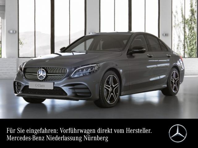 Mercedes-Benz C 220 d 4M AMG+Night+LED+Spur+Totw+Keyless+9G, Jahr 2021, Diesel