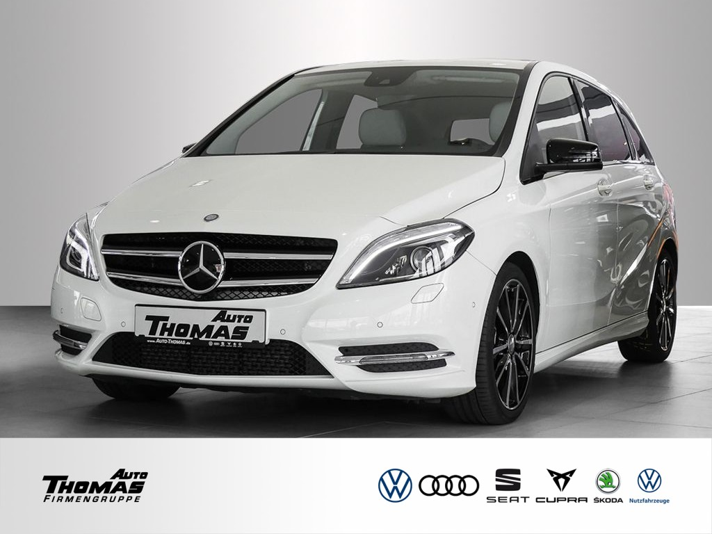 Mercedes-Benz B 220 4MATIC 7-DCT NIGHT+XENON+NAVI+MEMOR, Jahr 2014, Benzin