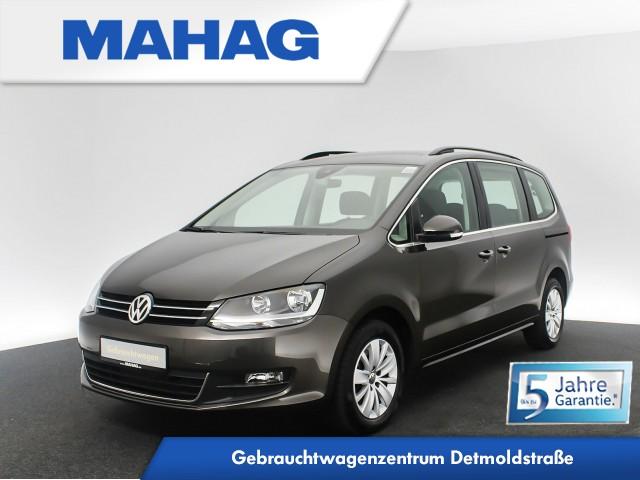 Volkswagen Sharan 2.0 TDI Comfortline 7-Sitzer Navi DAB+ Sitzhz. ParkPilot FrontAssist 16Zoll DSG, Jahr 2020, Diesel