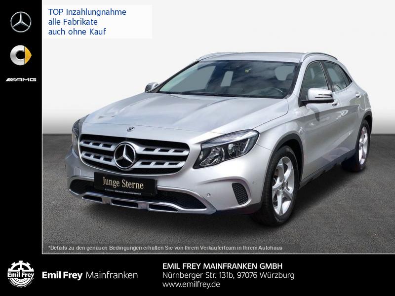 Mercedes-Benz GLA 180 d Urban+COMAND+360°+Park+2-Zonen-Klima, Jahr 2017, Diesel