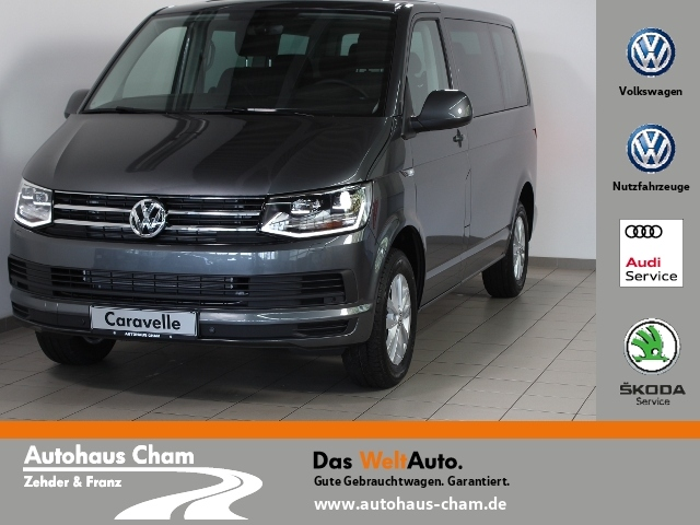 Volkswagen Caravelle 2.0 TDI 8-Sitzer,AHK,Navi,DAB,LED, Jahr 2019, Diesel