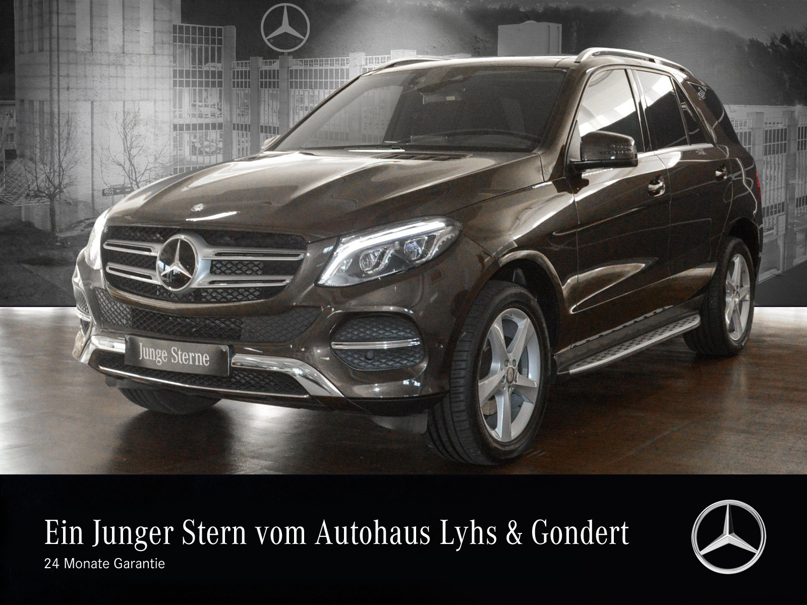 Mercedes-Benz GLE 250 d 4M Comand Distronic Pano.-Dach LED AHK, Jahr 2016, Diesel