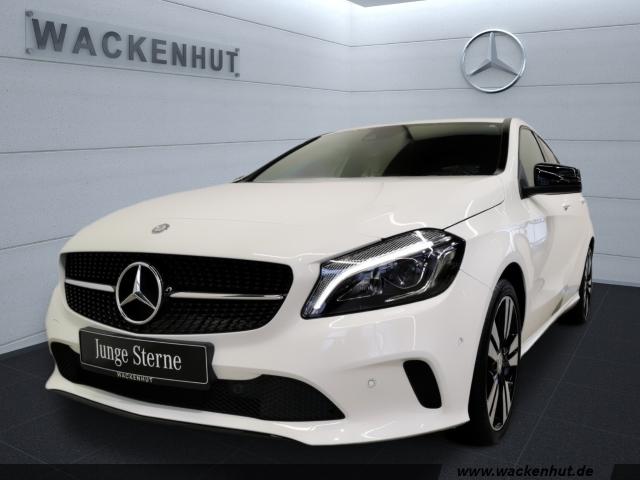 Mercedes-Benz A 160 URBAN SCORE! NIGHT+LED+AHK+KLIMA+SITZK.PAK, Jahr 2016, Benzin
