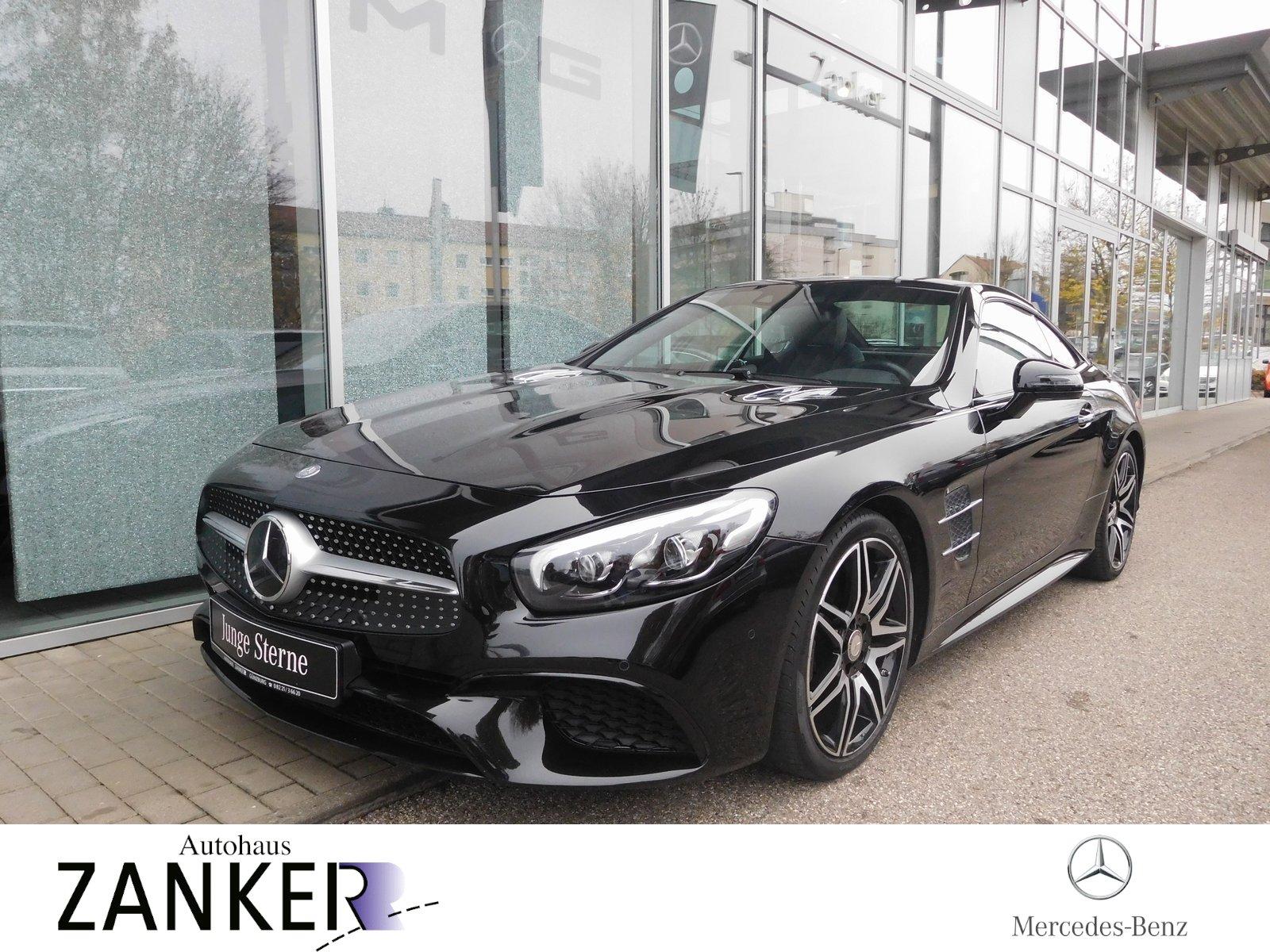 Mercedes-Benz SL 500 *COMAND*MAGIC-SKY*KEY-LESS*AMG*EXKLUSIV*, Jahr 2017, petrol