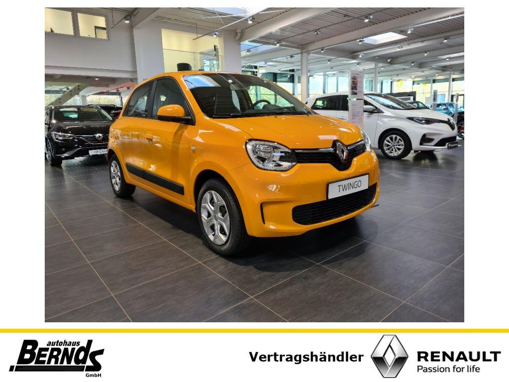 Renault Twingo SCe 65 LIMITED EASYLINK SITZHEIZUNG KLIMA, Jahr 2021, Benzin
